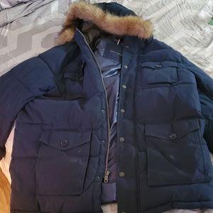 Tommy Hilfiger 2x winter jacket w Fox for hood